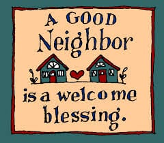 10 TIPS TO BEING A GOOD NEIGHBOR