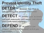 IDENTITY THEFT – IT CAN HAPPEN TO YOU!